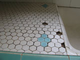 Kitchen Tile and Grout Restoration After